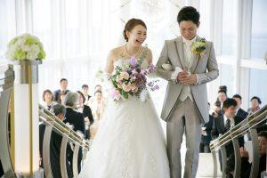 ヒルトン福岡シーホーク結婚式 藤本様ご夫妻 レポート画像1