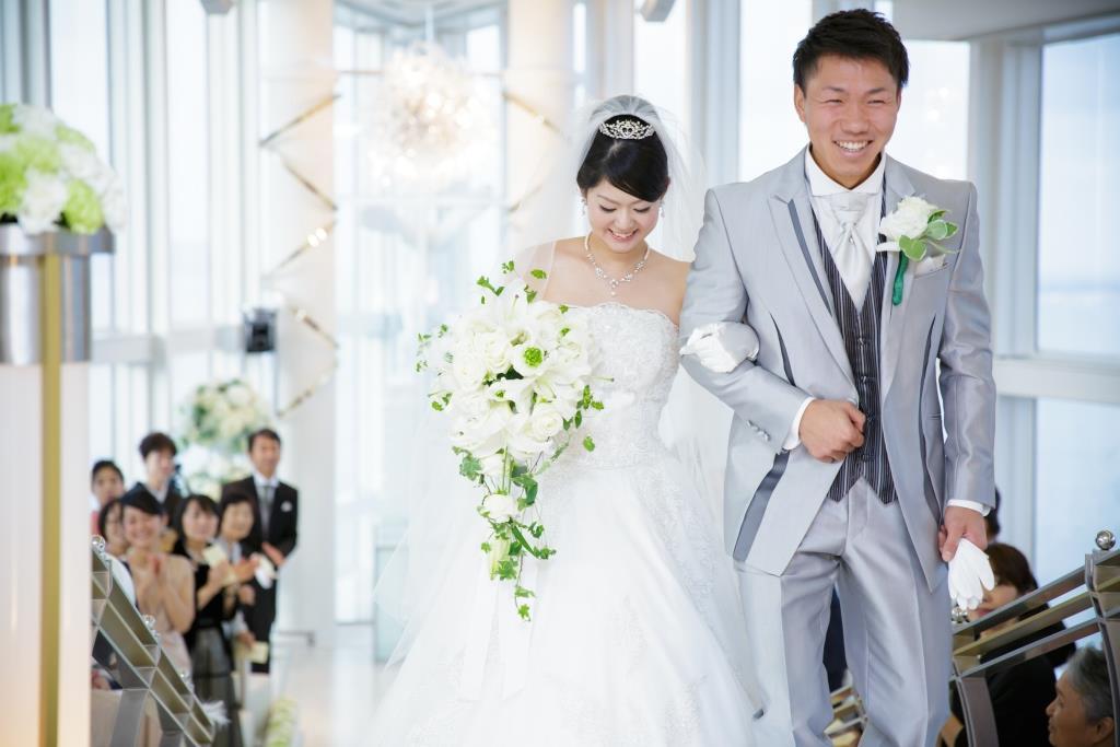ヒルトン福岡シーホーク結婚式 轟様ご夫妻 レポート画像1