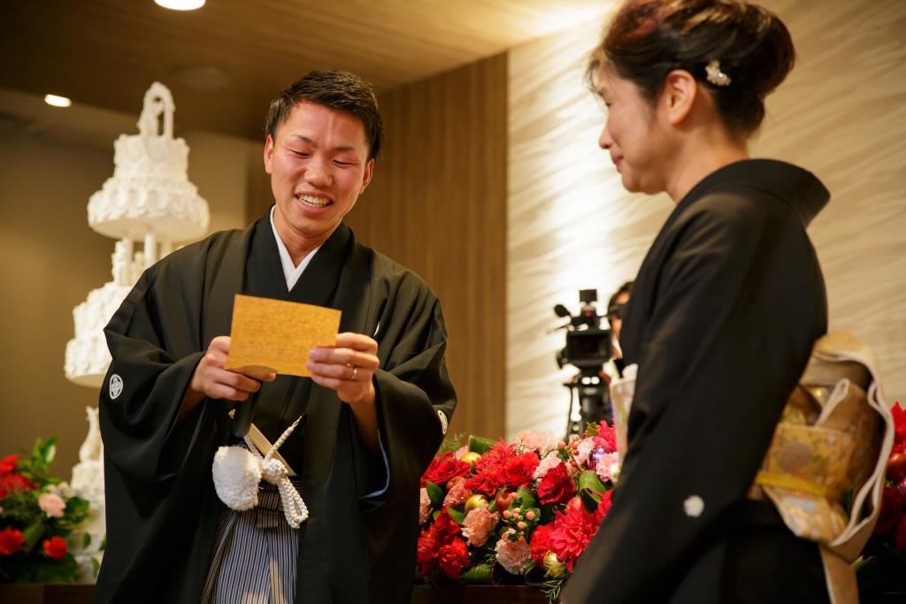 ヒルトン福岡シーホーク結婚式 轟様ご夫妻 レポート画像3