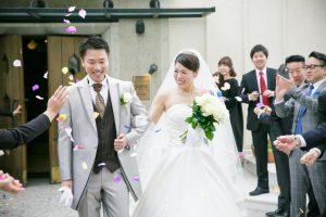 西鉄グランドホテル結婚式 村上様ご夫妻 レポート画像1