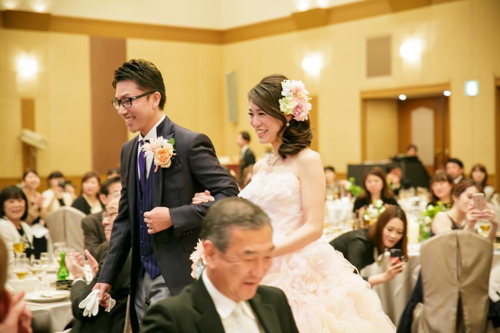 西鉄グランドホテル結婚式 村上様ご夫妻 レポート画像2