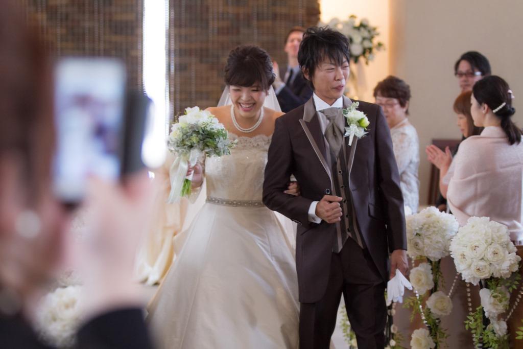 RITZ5結婚式 岩尾様ご夫妻 レポート画像1