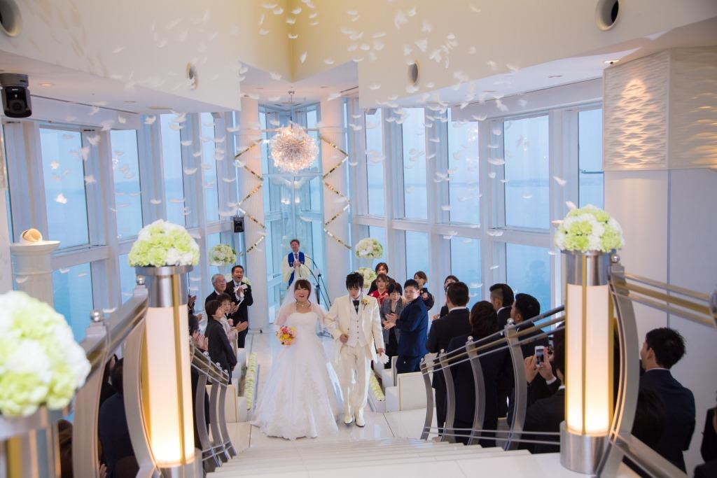 ヒルトン福岡シーホーク結婚式 片岡様ご夫妻 レポート画像2
