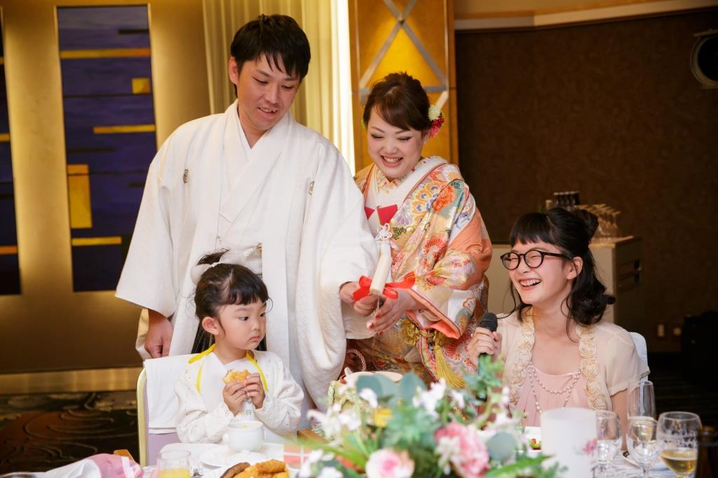ホテルニューオータニ博多結婚式 木下様ご夫妻 画像1