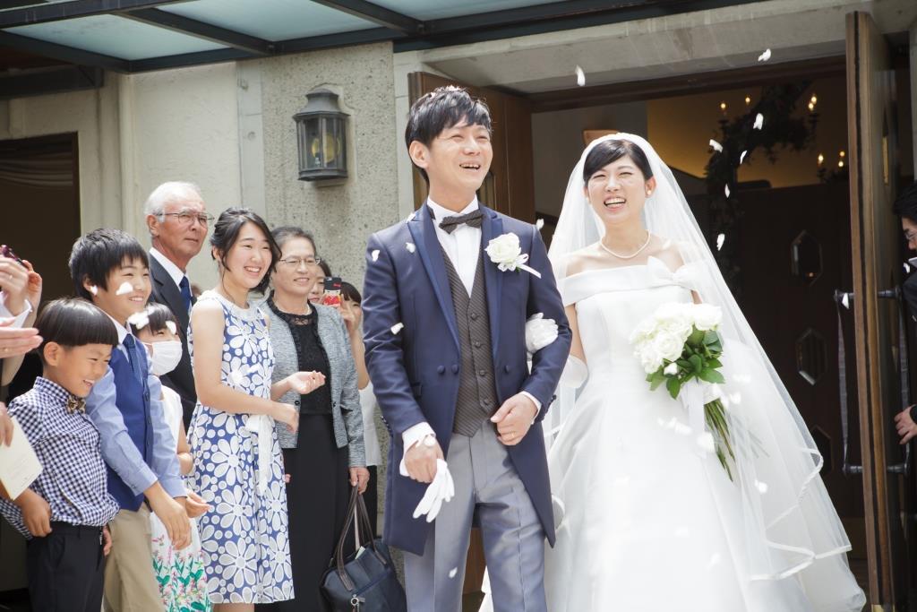 西鉄グランドホテル結婚式 森園様ご夫妻 画像2