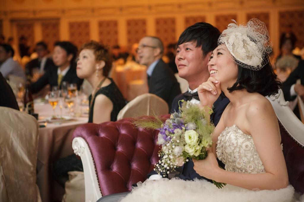 西鉄グランドホテル結婚式 森園様ご夫妻 画像3