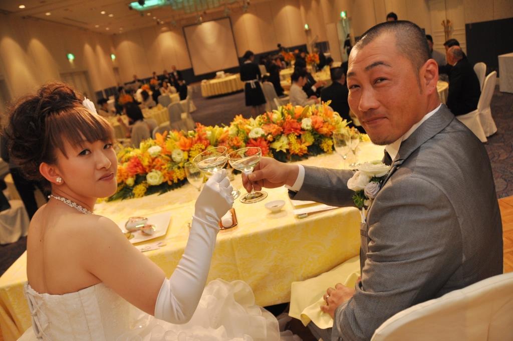 アークロイヤルホテル福岡天神結婚式 井上様ご夫妻 レポート画像2