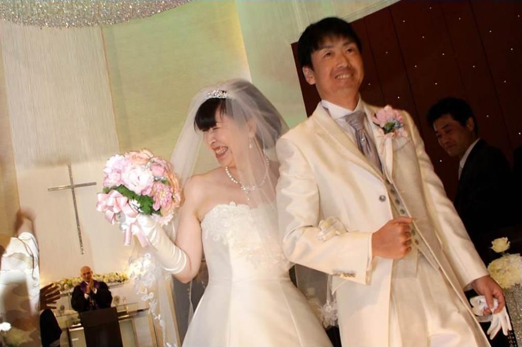 ヒルトン福岡シーホーク結婚式 山田様ご夫妻 レポート画像2