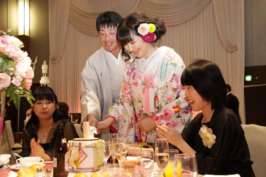 ヒルトン福岡シーホーク結婚式 山田様ご夫妻 レポート画像3