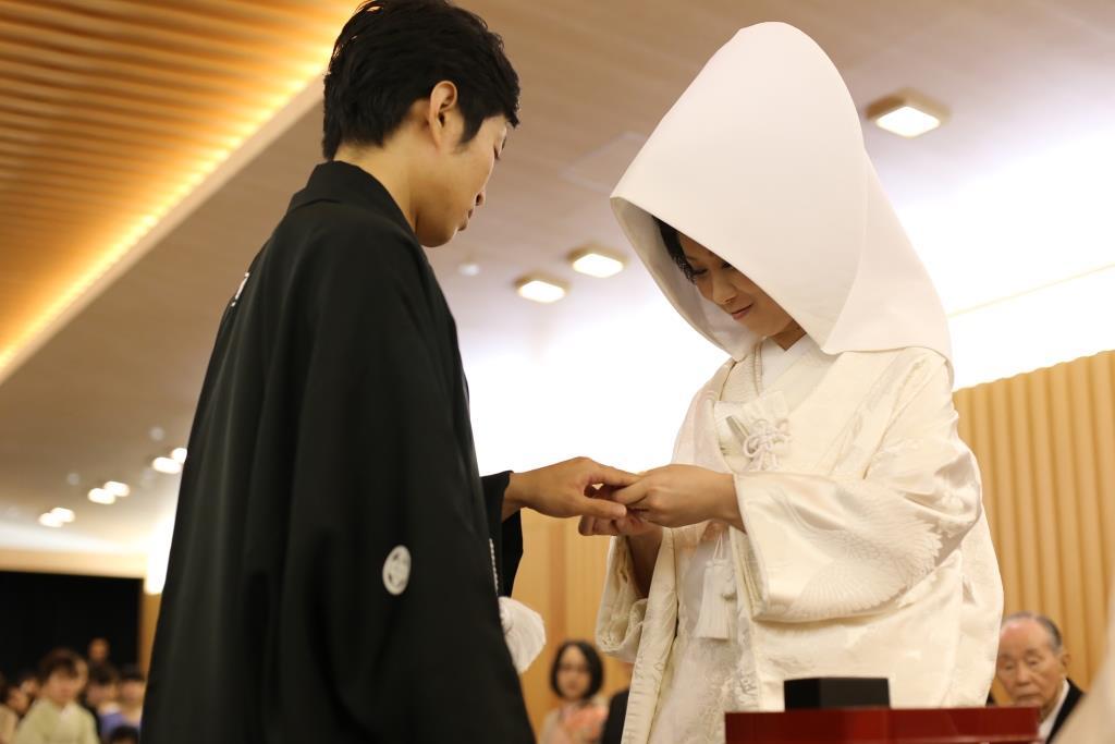 ヒルトン福岡シーホーク結婚式 松田様ご夫妻 レポート画像1