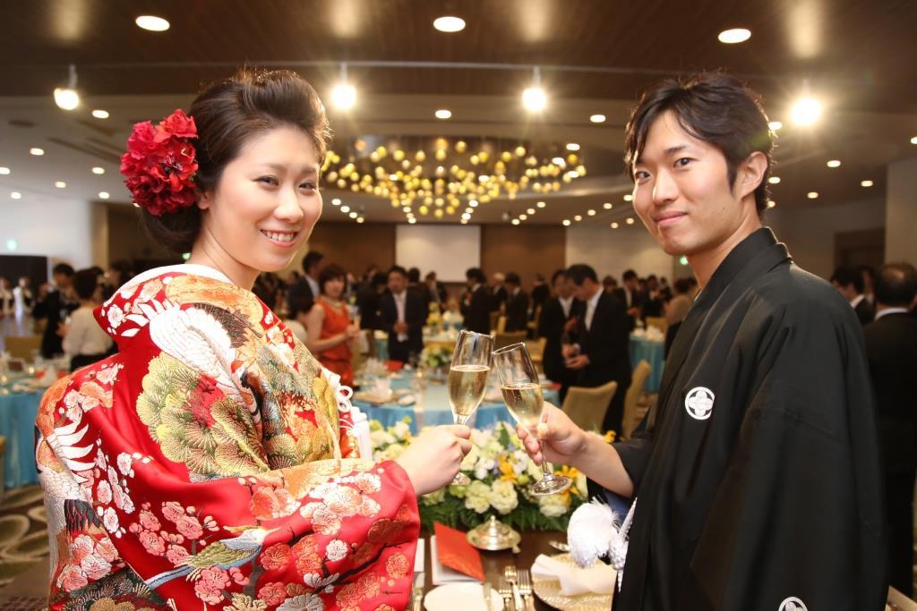 ヒルトン福岡シーホーク結婚式 松田様ご夫妻 レポート画像2