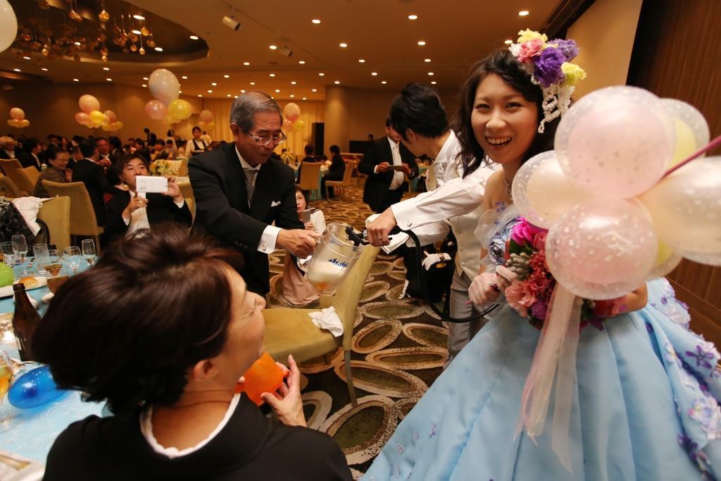 ヒルトン福岡シーホーク結婚式 松田様ご夫妻 レポート画像3
