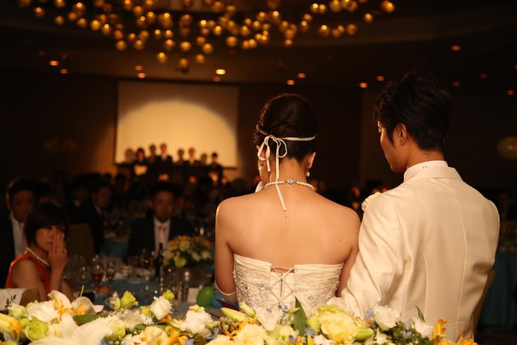 ヒルトン福岡シーホーク結婚式 松田様ご夫妻 レポート画像4