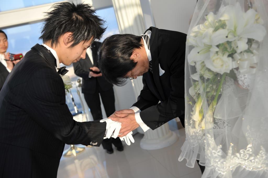 ヒルトン福岡シーホーク結婚式 森様ご夫妻 レポート画像1