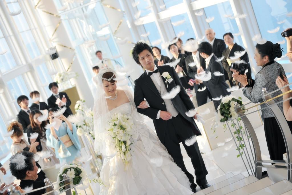 ヒルトン福岡シーホーク結婚式 森様ご夫妻 レポート画像2