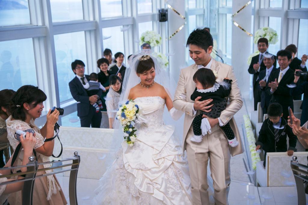ヒルトン福岡シーホーク結婚式 瑞慶覧様ご夫妻 レポート画像1