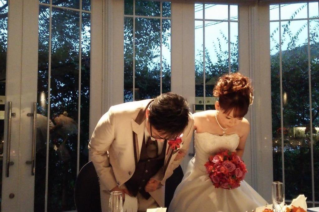 レストラン・ヴェルフォンセ結婚式 櫻田様ご夫妻 レポート画像2