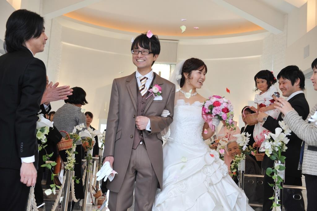 レストレンヴェルフォンセ結婚式 久保様ご夫妻 レポート画像2