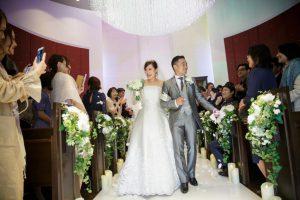 ヒルトン福岡シーホーク結婚式 力石様ご夫妻 レポート画像1