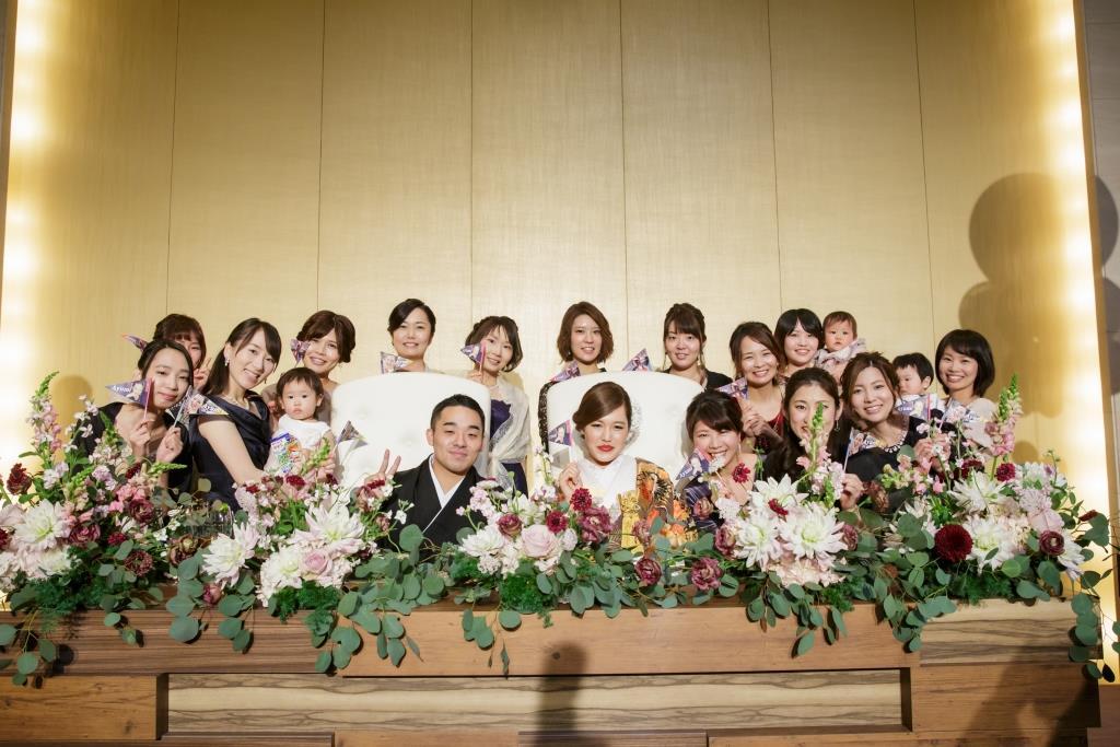 ヒルトン福岡シーホーク結婚式 力石様ご夫妻 レポート画像2