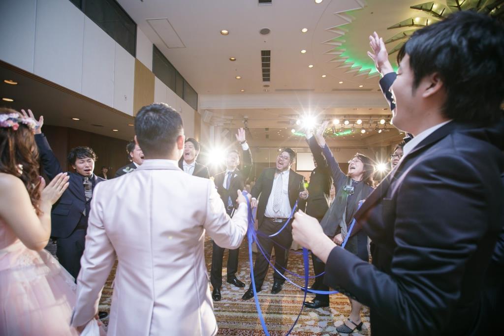 ヒルトン福岡シーホーク結婚式 力石様ご夫妻 レポート画像3