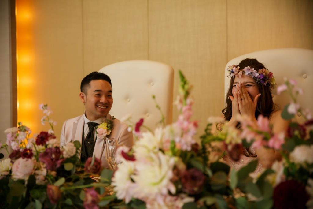 ヒルトン福岡シーホーク結婚式 力石様ご夫妻 レポート画像4