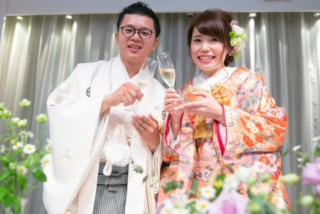 ANAクラウンプラザホテル熊本ニュースカイ結婚式 田中様ご夫妻 レポート画像1