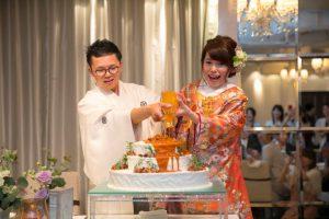 ANAクラウンプラザホテル熊本ニュースカイ結婚式 田中様ご夫妻 レポート画像2