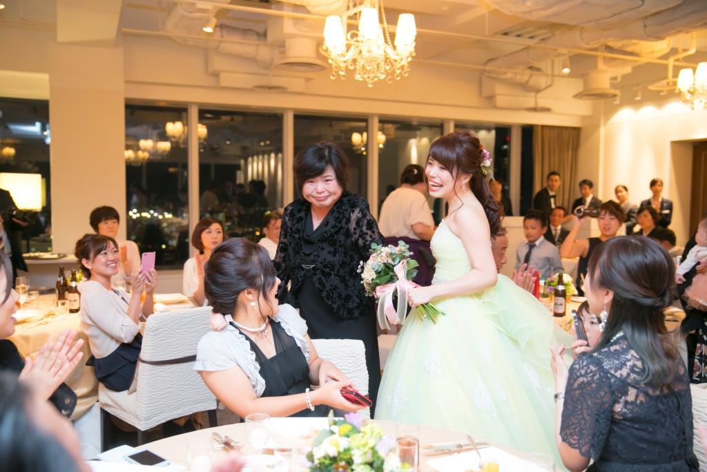 ANAクラウンプラザホテル熊本ニュースカイ結婚式 田中様ご夫妻 レポート画像3
