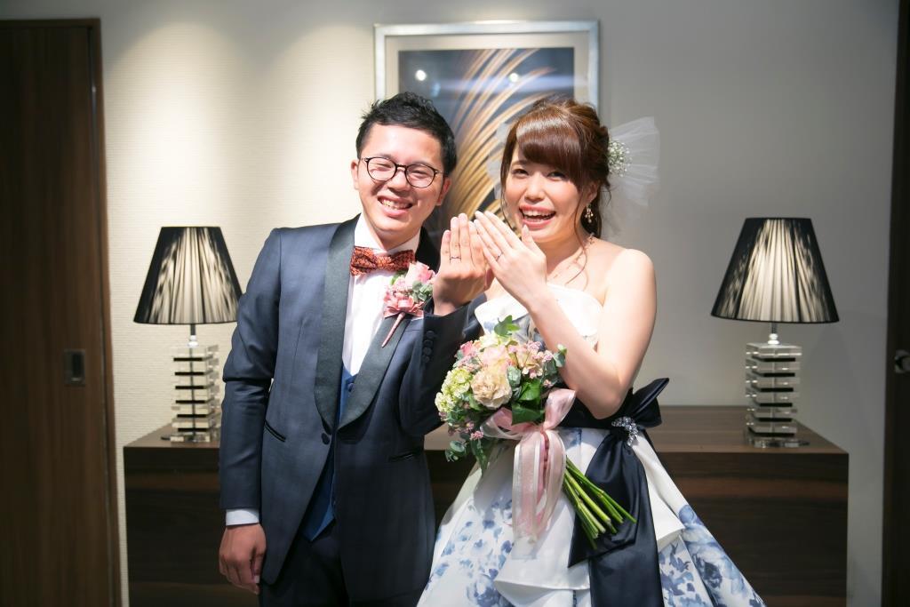 ANAクラウンプラザホテル熊本ニュースカイ結婚式 田中様ご夫妻 レポート画像5