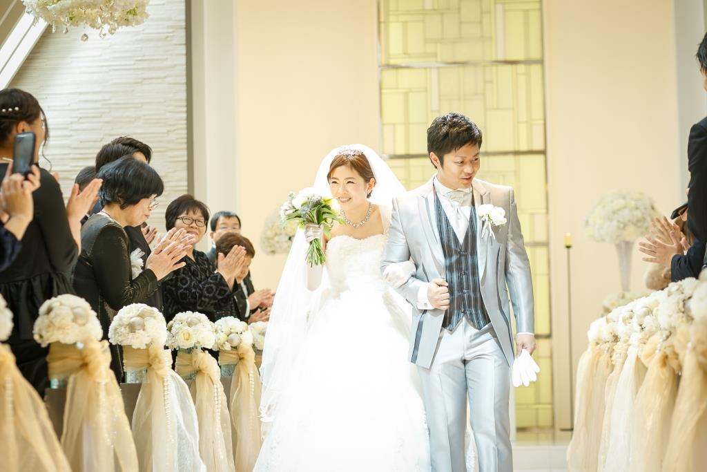 ホテルオークラ福岡結婚式 田中様ご夫妻 画像1