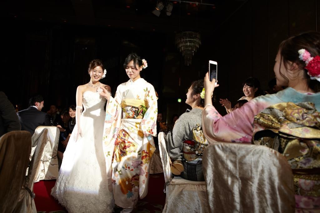 ホテルオークラ福岡結婚式 田中様ご夫妻 画像2