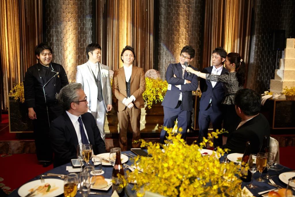 ホテルオークラ福岡結婚式 田中様ご夫妻 画像3