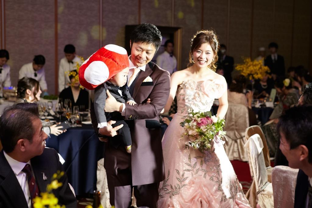 ホテルオークラ福岡結婚式 田中様ご夫妻 画像4