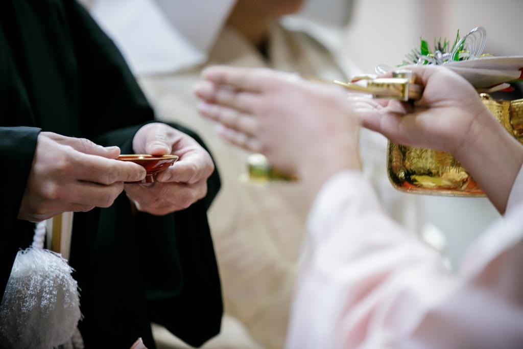 ホテルニューオータニ博多 結婚式 I様ご夫妻 画像1