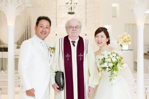 柴田様ご夫妻 ホテルニューオータニ博多 結婚式 画像1