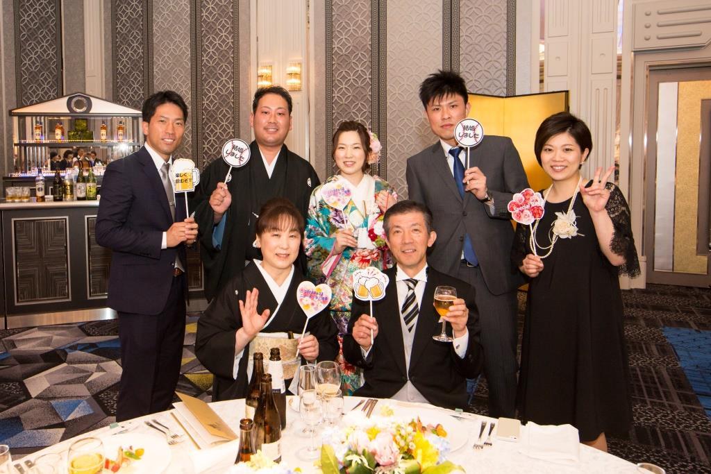 柴田様ご夫妻 ホテルニューオータニ博多 結婚式 画像2