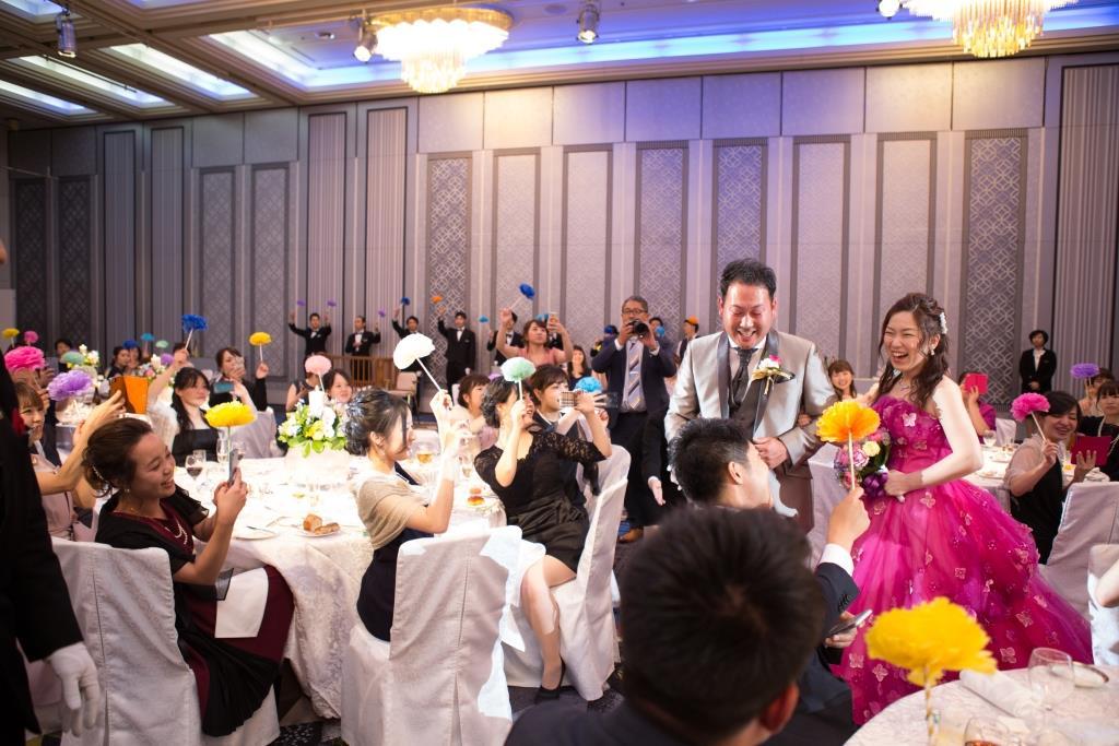 柴田様ご夫妻 ホテルニューオータニ博多 結婚式 画像4