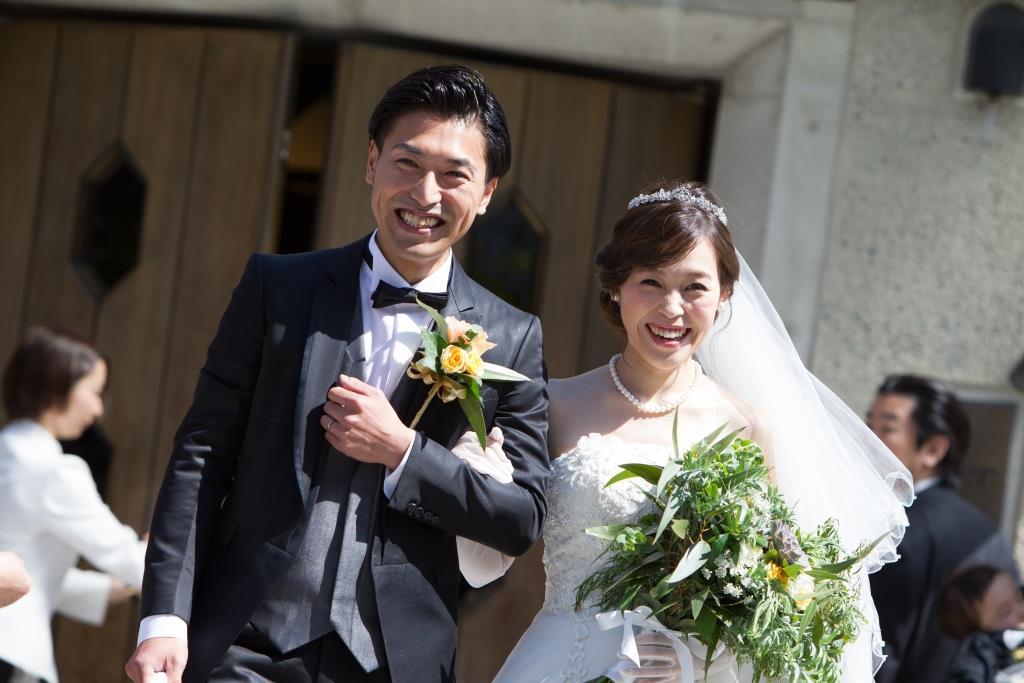 西鉄グランドホテル結婚式 T様ご夫妻 画像1