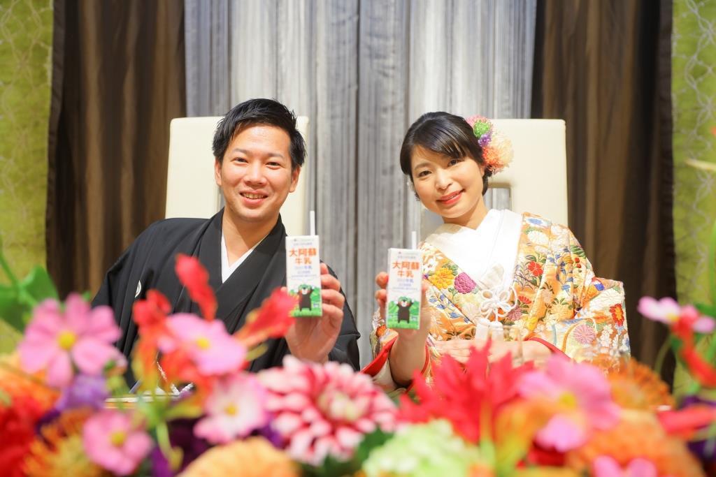 ホテルニューオータニ博多結婚式 小倉様ご夫妻 画像1