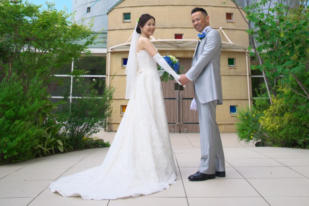 ヒルトン福岡シーホーク結婚式 一木様ご夫妻 画像1