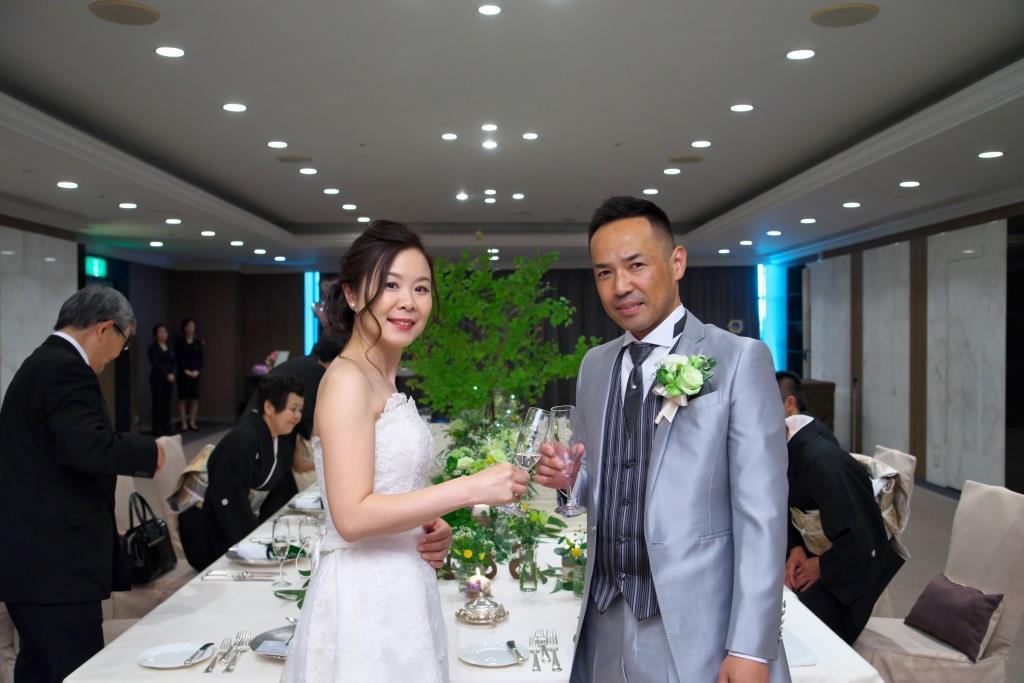 ヒルトン福岡シーホーク結婚式 一木様ご夫妻 画像3