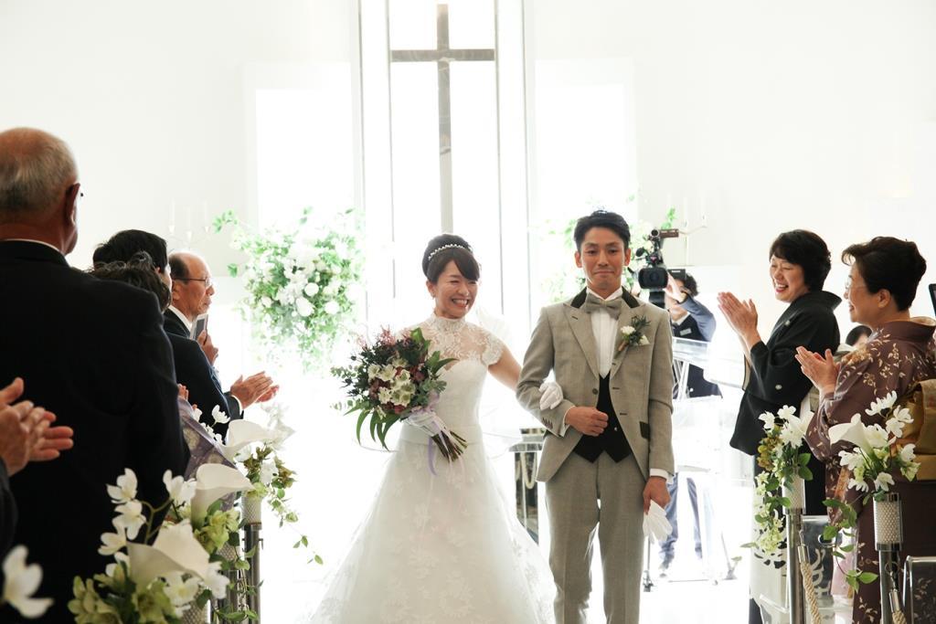 レストランヴェルフォンセ結婚式-中村様ご夫妻-画像1