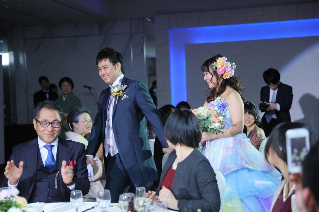 ソラリア西鉄ホテル結婚式 浮嶋様ご夫妻 画像4