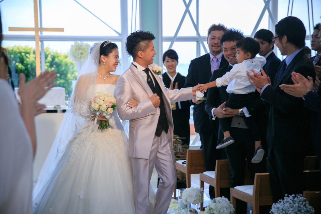 ヒルトン福岡シーホーク結婚式 小西様ご夫妻 画像1