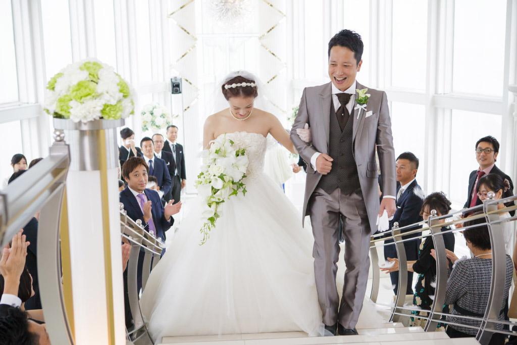 ヒルトン福岡シーホーク結婚式 板谷様ご夫妻 画像2