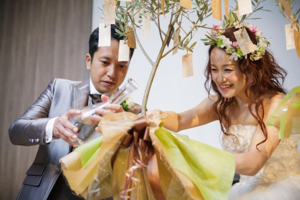 ヒルトン福岡シーホーク結婚式 板谷様ご夫妻 画像3