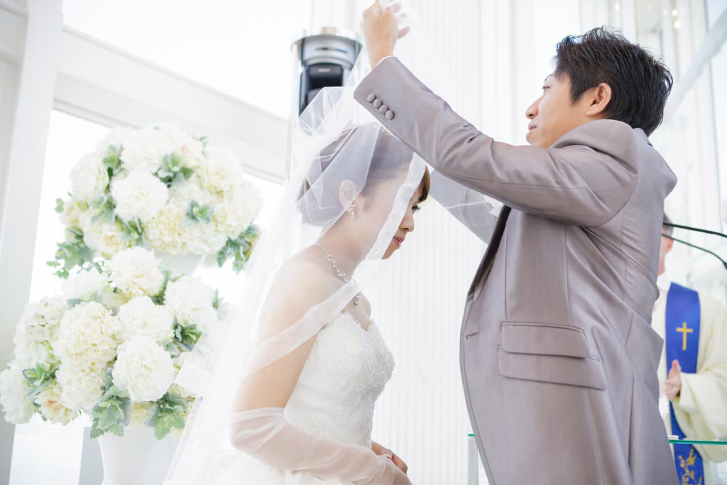 ヒルトン福岡シーホーク結婚式 I様ご夫妻 画像1