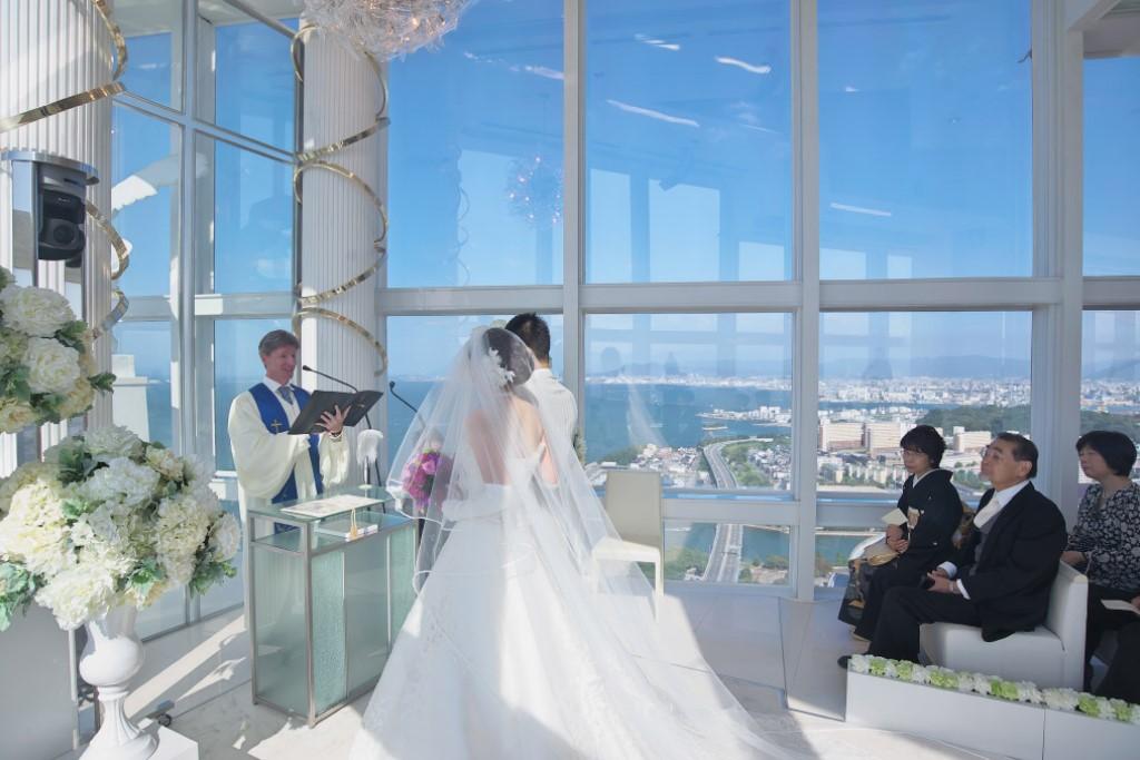 ヒルトン福岡シーホーク結婚式 T様ご夫妻 画像2