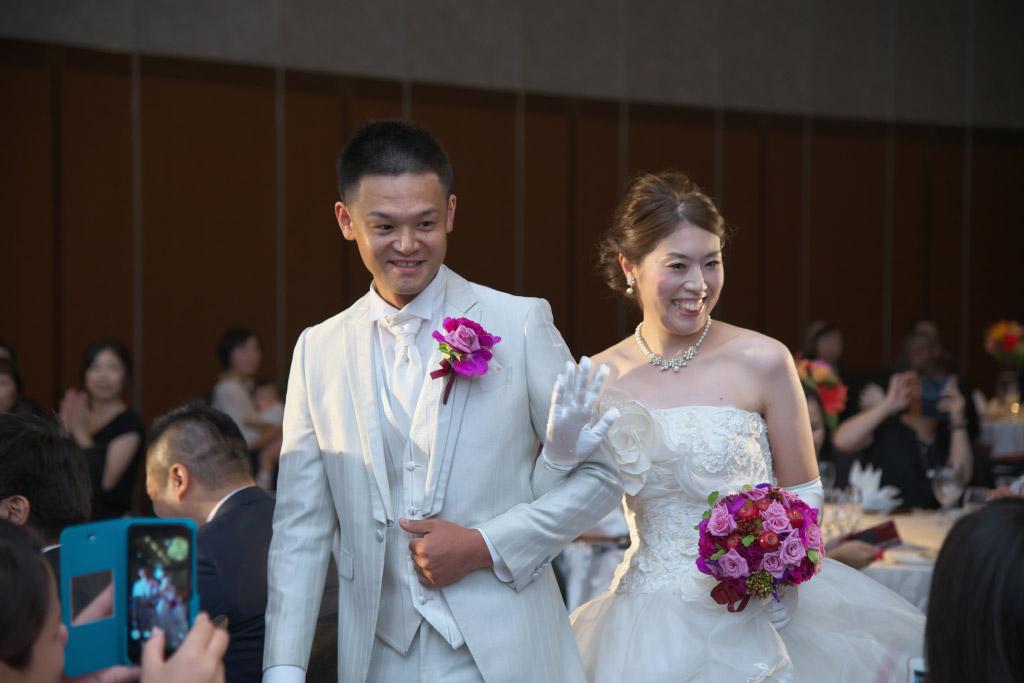 ヒルトン福岡シーホーク結婚式 T様ご夫妻 画像3